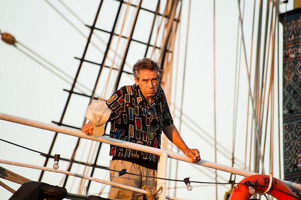Tall Ships at Boston Harbor