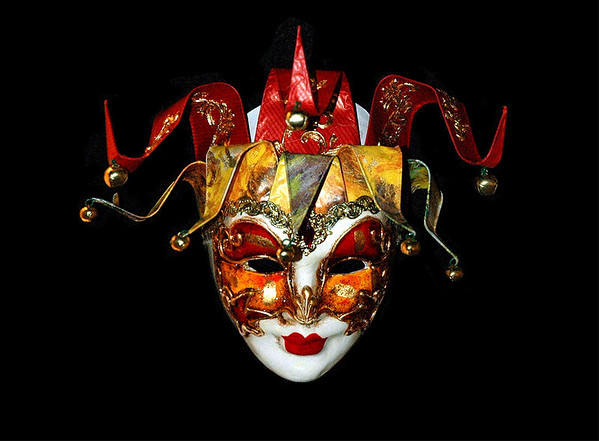 Venician mask #2<br /> <br /> 02-194