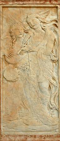 Bas relief #4<br /> Perugia, Italy<br /> <br /> 04-010
