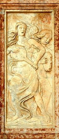Bas relief #6<br /> Perugia, Italy<br /> <br /> 04-012