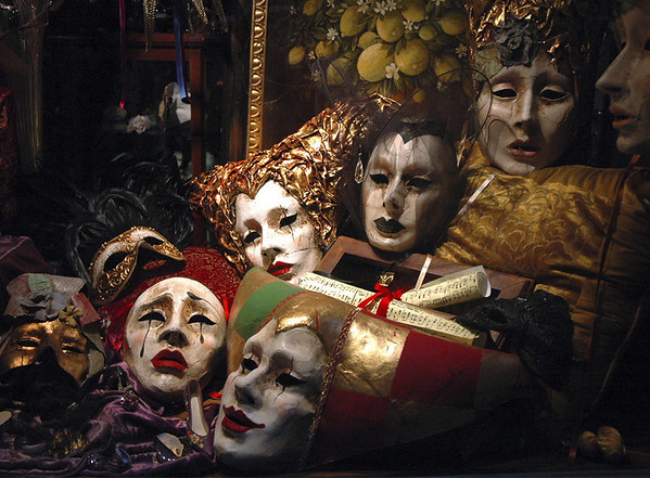 Venician masks #4<br /> <br /> 02-193