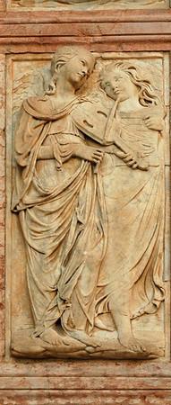 Bas relief #1<br /> Perugia, Italy<br /> <br /> 04-007
