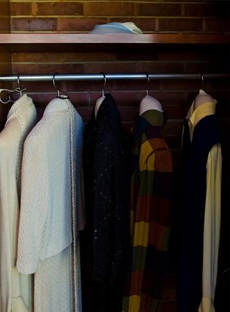 Lady's wardrobe 1950<br /> <br /> 01-059