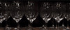 Wine glasses on a shelf<br /> <br /> 03-097