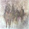 """""""The ghost city"""" (acrilic, mixed media on canvas) by Irina Nuzhdina"""