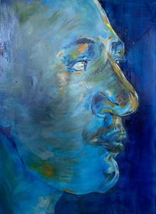 """Bogos"" (oil on canvas) by Alicia Daniel"