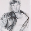 """""""Man 1800"""" (mixed media charcoal and pencil) by Sherry Lupo"""