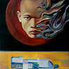 """The Diamond Way"" (oil on canvas) by Anton Ovchinnikov"