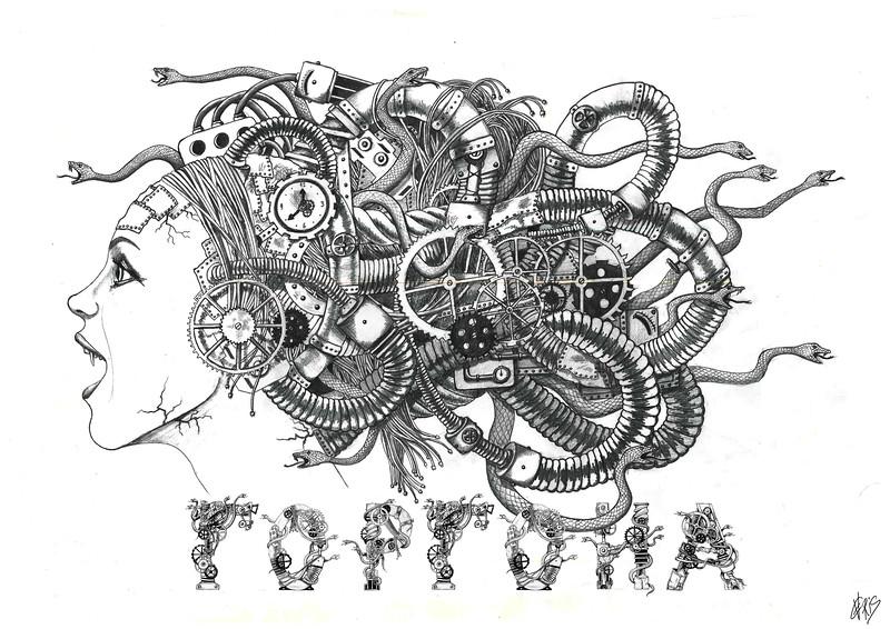 """""""Future"""" (pencil) by Anna Rodionova"""