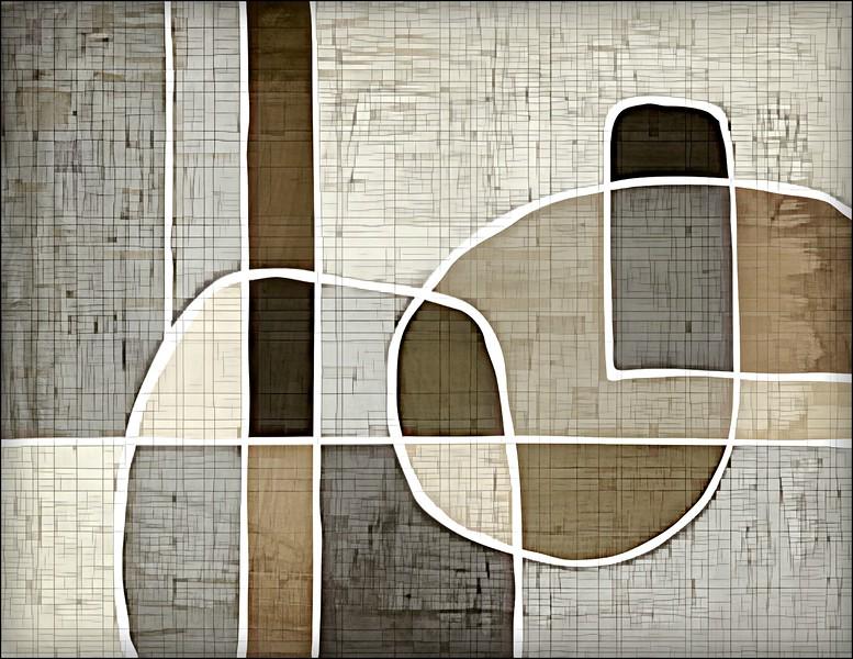 """""""Matrix"""" (mixed media, digital) by Michelle Woitzel"""