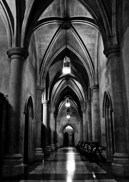 """""""To The Crypt"""" (photography) by Brandi Foster"""