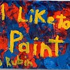 """I Like To Paint"" (acrylic) by David Rubin"