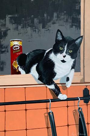 """Chips are mine"" (acrylic) by Iryna Antoniuk"