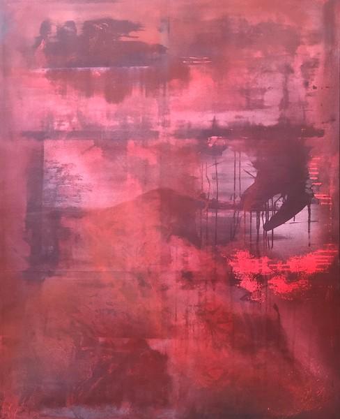 """Refuge..."" (acrylic) by Corrie van der Wath"