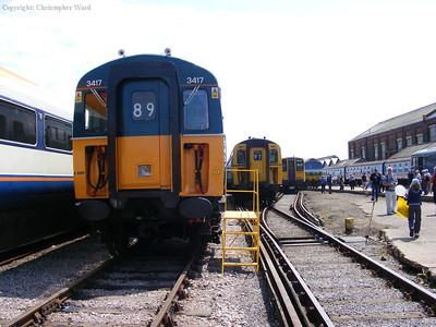 Three classes of EMU and a 59