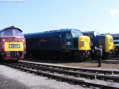 A Deltic, a Western and a Peak