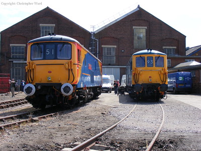SWT and GBRf 73s