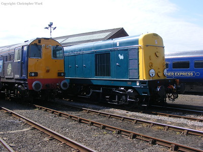 Two class 20s