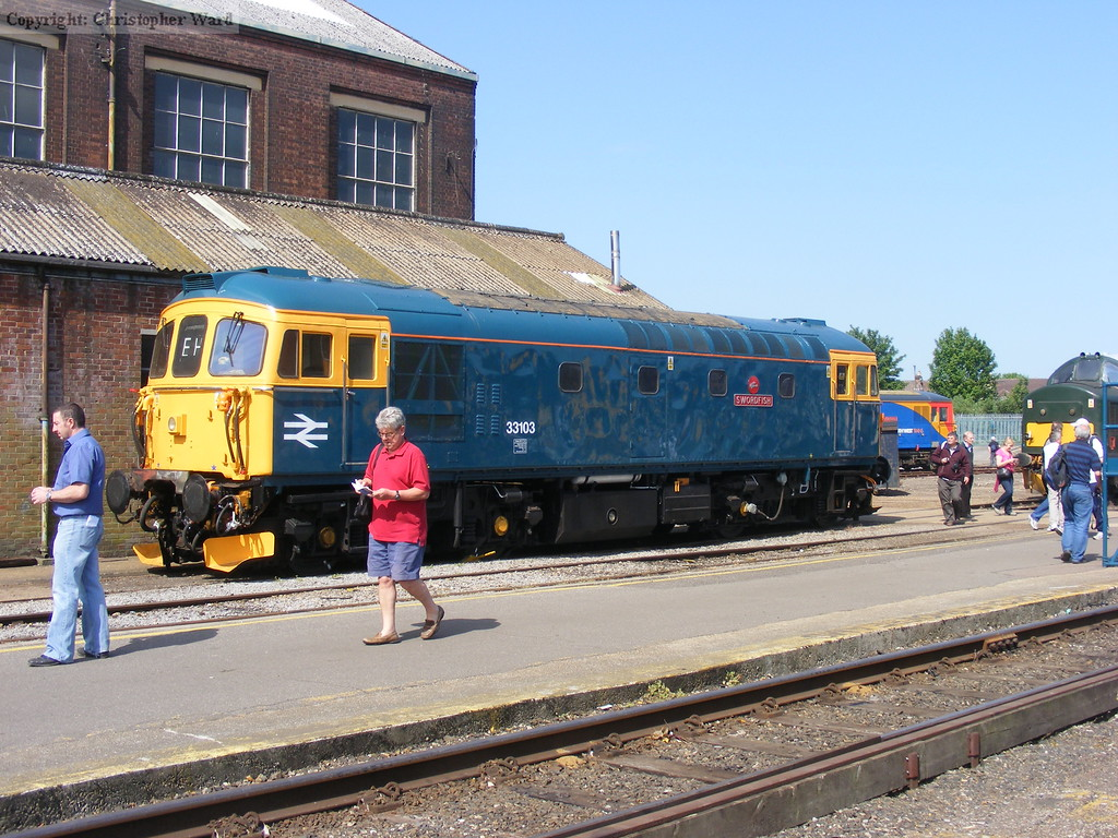 33103 sits in the yard