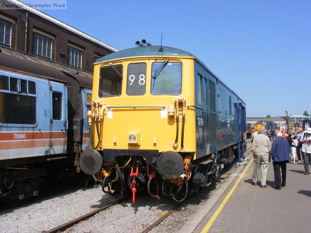 The rail blue 73