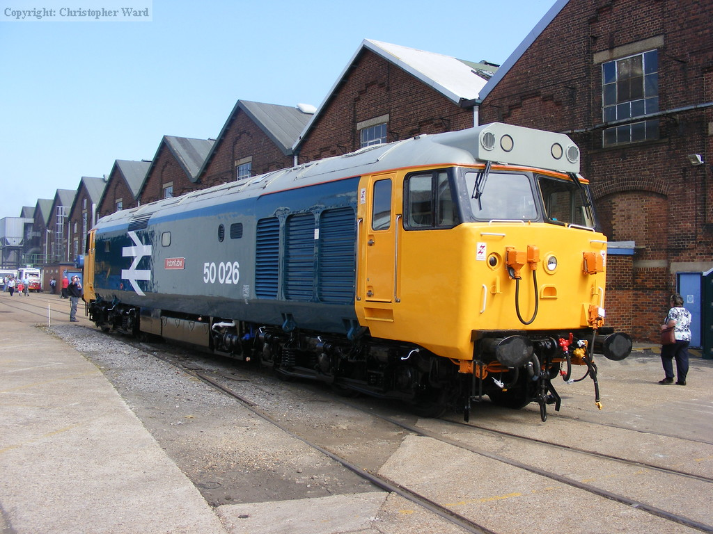 50026 sits in the sunshine