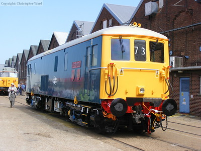 73142 Broadlands, the former Southern Region royal locomotive