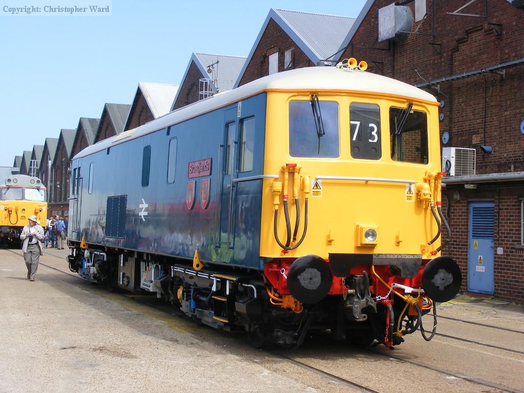 73142 Broadlands, the former Southern Region royal locomotive