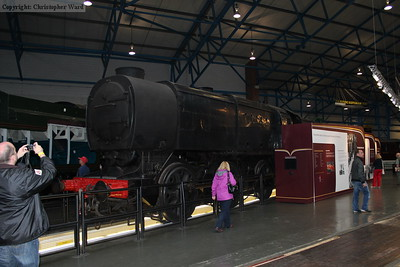 The Q1 sits by the turntable in the Great Hall