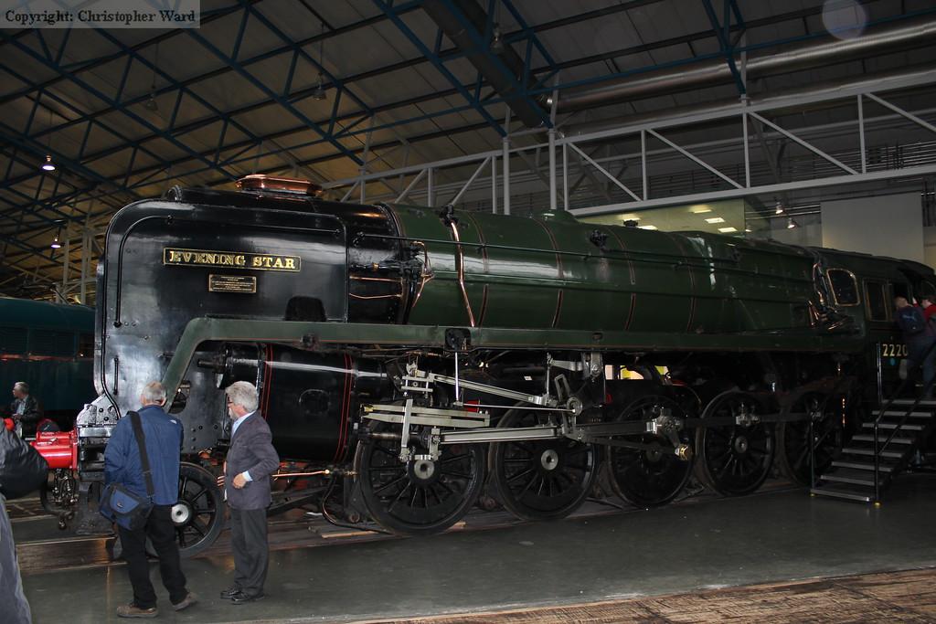 What is now the penultimate British standard gauge steam locomotive Evening Star