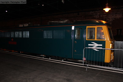 87001 Royal Scot on display in Station Hall