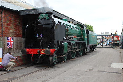 Recently restored Cheltenham in steam