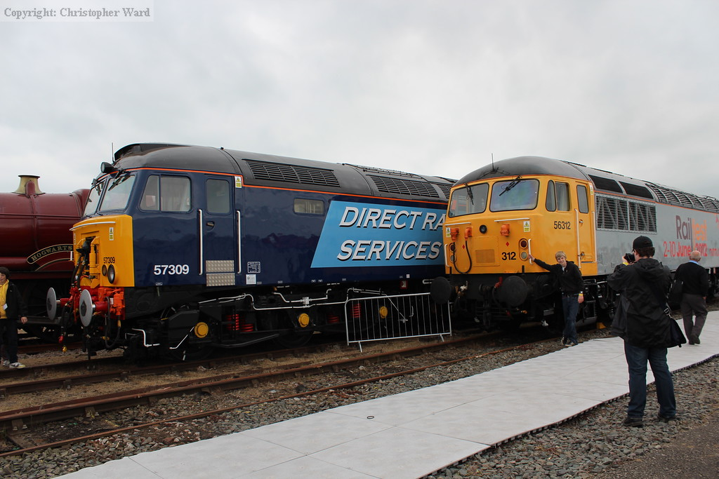 56312 and 57309 in display