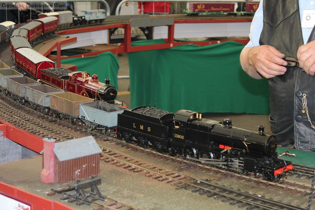Two LMS trains in Yorkshire