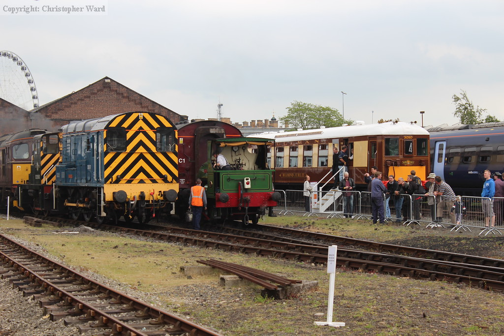 An eclectic line-up of traction in the yard