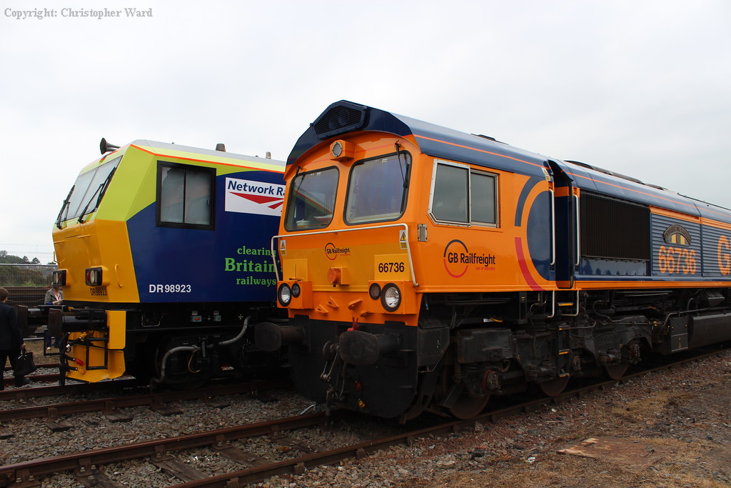 66736 and DR98923 rub shoulders