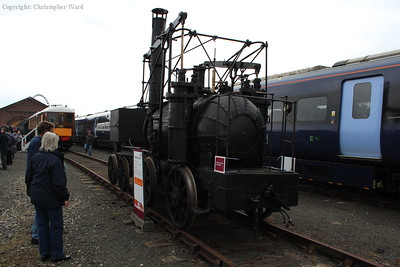 The Beamish replica of Puffing Billy