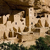 Square Tower House Ruins at Mesa Verde National Park, Colorado