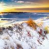 """Winter Sunset at Paine's Creek"" - Cape Cod, Massachusetts"