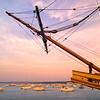 Mayflower II in Plymouth, Mass
