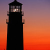 Sunset at Highland Lighthouse in Truro,