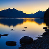 """Blue Hour at Lake McDonald"" - Glacier National Park, Montana"