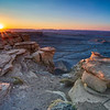 Photographing in this remote area outside Capitol Reef National Park was like photographing on another planet. <br /> <br /> Not only that, but we had the area to ourselves for most of the evening!<br /> <br /> This was photographed just as the sun was about to set.