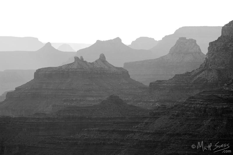 """Shades of Gray"" - Grand Canyon National Park, Arizona"