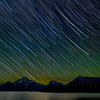Made from 4 light frames (captured with a SONY camera) by Starry Landscape Stacker 1.6.1.  Algorithm: Median
