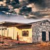 Jim's Garage, and old abandoned automotive garage in Florence, Arizona