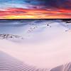 """Monahans Sunset"" - sand dunes Monahans Sandhills State Park, Texas"