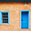 """Door and Window, Blue"" - New Mexico"
