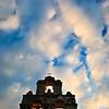 """Mission San Juan"" and clouds - San Antonio, Texas"