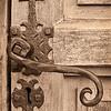 """""""The Way"""" - a door handle to a mission in San Antonio, Texas"""