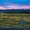 Ribbon of Sunrise at the Tetons - Grand Teton National Park
